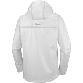 Columbia OutDry Ex ECO Tech Chaqueta Shell Hombre, white undyed